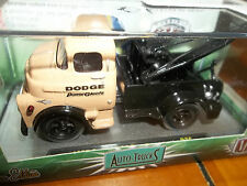 M2 1/64 AUTO TRUCKS RELEASE 36 BROWN 1957 DODGE COE TOW TRUCK