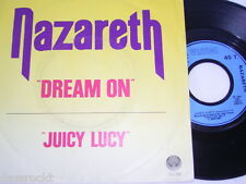 "7"" - Nazareth / Dream on & Juicy Lucy - France # 1559"