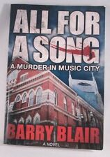 All For A Song: A Murder In Music City (Paperback 2012) Autographed Copy  L New