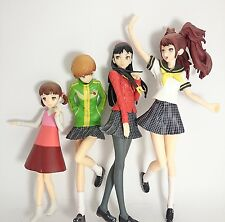 "Persona 4 5-7.5"" Figure 4pcs Authentic Taito Japan k#15931"