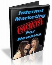 Internet Marketing For Newbies Video Series 19 professionally recorded Video's