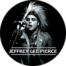CHAPA/BADGE JEFFREY LEE PIERCE . pin button gun club cramps creeping ritual