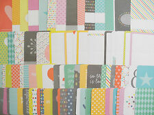 Happy NEW Edition Higgins 50 x Project Life Cards Set 4x6 & 3x4 Journaling