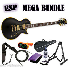 ESP LTD EC-1000 VB Duncan EC-1000 DR *New* Vintage Black! VBDR - MEGA BUNDLE 1
