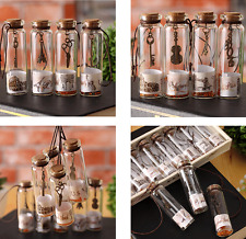 New Cute Mini Small Cork Stopper Glass Vial Jars Containers Bottles random