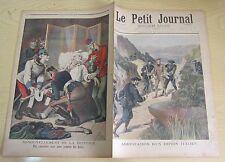 Le petit journal 1896 293 Espion italien + renouvellement triplice