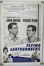 FLYING LEATHERNECKS FF ORIG 1SH MOVIE POSTER JOHN WAYNE ROBERT RYAN RR62 (1951)