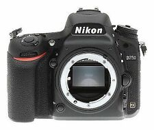 New Nikon D750 24.3 MP Digital SLR Camera - Black (Body Only) - No Issues
