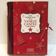 NIB THE TWELVE DAYS OF A YANKEE CANDLE CHRISTMAS Candle Sampler Collection