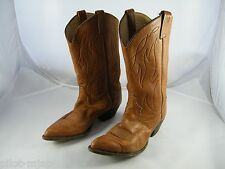 TONY LAMA BOOTS STYLE # F1239 SIZE 10 D REGISTRATION NUMBER 420808052 MADE IN US
