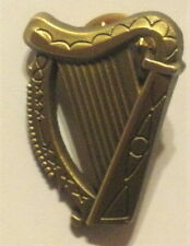 IRISH VOLUNTEERS 1916 RISING HARP CAP BADGE BRONZE TONE