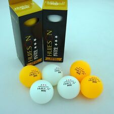 New 2 boxes (6Pcs) 3-Stars 40mm Olympic Table Tennis Balls Ping pong Ball Orange