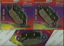 Kawasaki Disc Brake Pads ZR1100 Zephyr 1996-1999 & 2002 Front & Rear (3 sets)