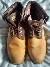 Timberland classic roll top boots size 10.5W
