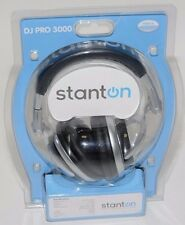 Stanton DJ PRO 3000 Headphones 20Hz-20kHz Frequency Response, 30 Ohms Impedance