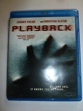 Playback Blu-ray indie horror movie posession Christian Slater Louis Le Prince