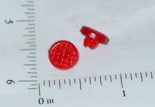 Pair Tonka Plastic Red Crosshatch Tail Lights Toy Part