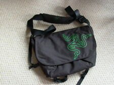 Rare RAZER BLADE Computer LAPTOP CASE with GREEN SNAKE Logo - Hard to Find