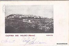 # CASTRO DEI VOLSCI:  VEDUTA   1907
