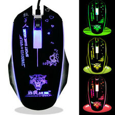 Optical LED Light Mouse USB Wired Gaming Mouse Mice gaming professional players