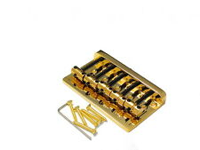 Bass Bridge puente steg Fender Style 5 String latón cuerdas jinete Brass Saddle DG