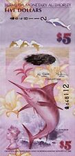 Bermuda 5 Dollars 2009 Pick 58 (1)