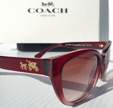 NEW* Coach Berry Pink Gradient L954 Women's Sunglasses  $198.98 HC8183