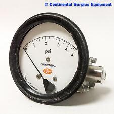 Orange Research Inc. Differential Pressure Gauge 1516DG 49451