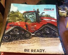 Case IH durable plastic parts bag w/ 4wd quad track tractor! very colorful Htf!