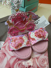 NEW-LELLI KELLY LILAC SEQUIN SANDAL & GIFT - UK 9 /EUR 28 - RRP £45.00