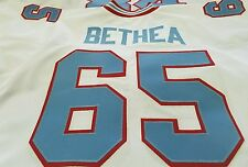 #00 Oilers Throwback FOOTBALL JERSEY Your Name sewn on 6XL -7XL.