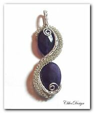 diy pdf tutorial Wire Wrapping Jewelry Amethyst Column Pendant,purple,Wicca