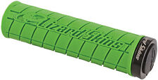 Lizard Skins Logo Lock-On MTB Mountain Bike Grips - Green