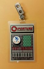 Portal Id Badge - Aperture Laboratories test subject costume prop cosplay