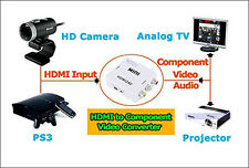 HDMI to AV CVBS 3 RCA Video Composite Converter HD TV Blu-ray DVD HDTV SKY PS2