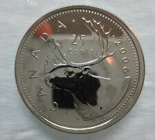 2006P CANADA 25 CENTS PROOF-LIKE COIN - A