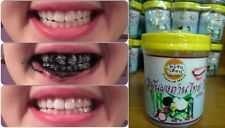 Activated Bamboo Charcoal Toothpaste Tooth Powder Odor Whitening Breath Mint