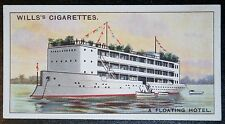 Floating Hotel    Palm Beach  Florida     Vintage Picture Card