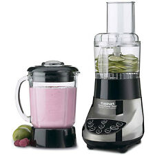 Cuisinart BFP-703CH SmartPower Duet Blender and Food Processor, Glass Jar Chrome