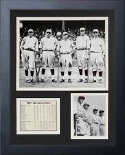 11X14 1927 NEW YORK YANKEES MURDERERS ROW 8X10 PHOTO BABE RUTH LOU GEHRIG