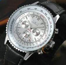 Luxury Mens Automatic Mechanical Stainless steel Date Military Sport Wrist Watch