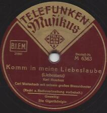 Blasorchester Carl Woitschach :  Die Gigerlkönigin + Komm in meine Liebeslaube
