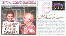 """COVERSCAPE computer designed 65th anniversary of """"Candid Camera"""" on TV cover"""