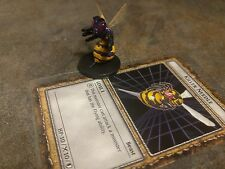 YUGIOH Dungeon Dice Monsters DDM - Needle Killer figure & card lot B4-12