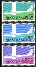 San Marino - 1974 50 years gliding / Aviation  - Mi. 1077-79 MNH