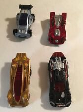 2008 McDonalds Hot Wheels Lot of 4 - Spinebuster,Sidedrift,Spectyte,& Motoblade