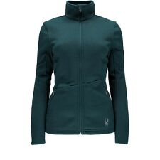 NWT Womens Cove Spyder Endure Core Full Zip Mid-weight Sweater Jacket Size Large