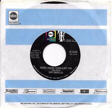 RAY CHARLES * 45 * Sweet Young Thing * 1968 #83 * MINT UNPLAYED! with ABC SLEEVE