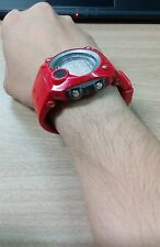 G-Shock Vintage Rare ITem Color RED Radar Sniper Design Red Digital Mercury Face
