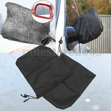 2PCS Universal Car Rear View Side Mirror Frost Guard Snow Ice Waterproof Cover